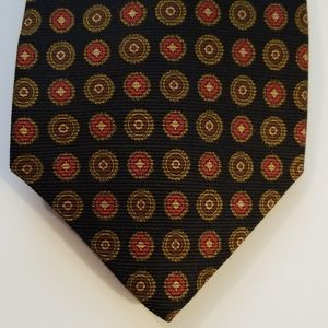 Brooks Brothers Makers Oval Design Silk Tie